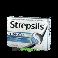 Strepsils Lidocaïne Pastilles Plq/24 à VINEUIL