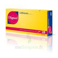 Oligosol Lithium Solution Buvable En Ampoule Ou En Récipient Unidose 28amp/2ml à VINEUIL