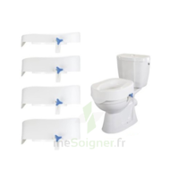 Rehotec Rehausse-wc Sans Couvercle Blanc 10cm à VINEUIL