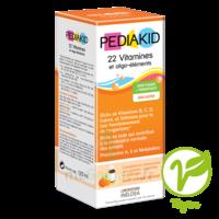 Pédiakid 22 Vitamines Et Oligo-eléments Sirop Abricot Orange 125ml à VINEUIL