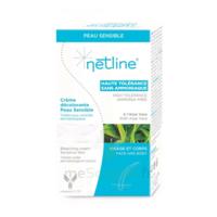 Netline Crème Visage/corps Décolorante Peau Sensible 30+30ml à VINEUIL