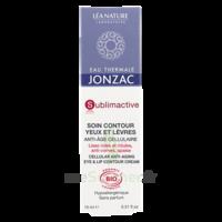 Jonzac Eau Thermale Sublimactive Crème Soin Contour Yeux Lèvres Jeunesse Immédiate 15ml à VINEUIL