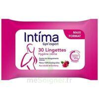 Intima Gyn'expert Lingettes Cranberry Paquet/30 à VINEUIL