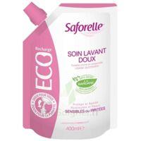 Saforelle Solution Soin Lavant Doux Eco-recharge/400ml à VINEUIL