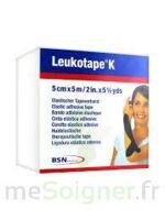 Leukotape K Sparadrap Noir 5cmx5m à VINEUIL