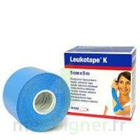 Leukotape K Sparadrap Bleu Ciel 5cmx5m à VINEUIL