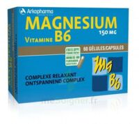 Arkovital Magnésium Vitamine B6 Gélules B/120 à VINEUIL