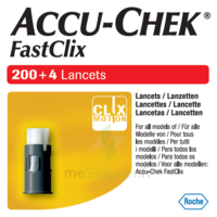Accu-chek Fastclix Lancettes B/204