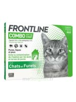 Frontline Combo Solution Externe Chat 3doses à VINEUIL