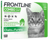 Frontline Combo Solution Externe Chat 6doses à VINEUIL