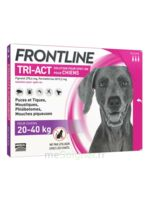 Frontline Tri-act Solution Pour Spot-on Chien 20-40kg 3pipettes/4ml à VINEUIL