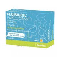 Fluimucil Expectorant Acetylcysteine 600 Mg Glé S Buv Adultes 10sach à VINEUIL