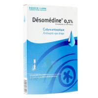 Desomedine 0,1 % Collyre Sol 10fl/0,6ml à VINEUIL