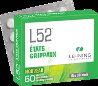 Lehning L52 Comprimés Orodispersibles Plq Pvc/pvdc/alu/60 à VINEUIL