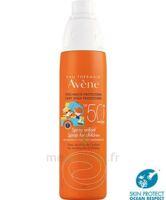 Avène Eau Thermale Solaire Spray Enfant 50+ 200ml à VINEUIL