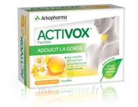 Activox Sans Sucre Pastilles Miel Citron B/24 à VINEUIL