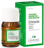 Lehning Complexe Echinacea N° 40 Solution Buvable Fl/30ml à VINEUIL