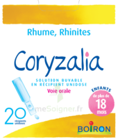 Boiron Coryzalia Solution Buvable Unidose B/20 à VINEUIL