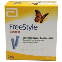 Freestyle Lancets Lancettes Stériles De Calibre 28g B/200 à VINEUIL