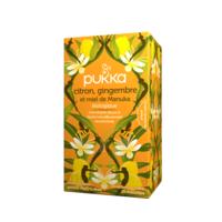 Pukka Bio Citron, Gingembre Et Miel De Manuka Tisane Immunité Citron Gingembre Miel De Manuka 20 Sachets à VINEUIL