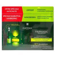 René Furterer Triphasic Progressive Sérum Antichute Coffret 8 Flacons X 5,5ml + Shampoing Stimulant 100 Ml à VINEUIL