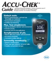Accu-chek Guide Lecteur De Glycémie Mg/dl (seul) à VINEUIL