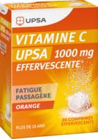 Vitamine C Upsa Effervescente 1000 Mg, Comprimé Effervescent à VINEUIL