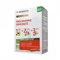 Arkofluide Bio Ultraextract Coffret Programme Immunité 3x10 Ampoules/10ml à VINEUIL
