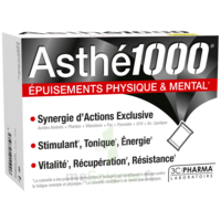 Asthe 1000 Poudre à Diluer épuisements Physique & Mental 10 Sachets à VINEUIL